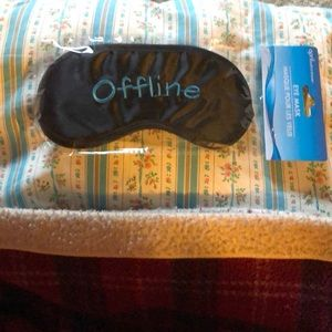 "Sleeping 😴 💤 Eye Mask, ""Offline"""
